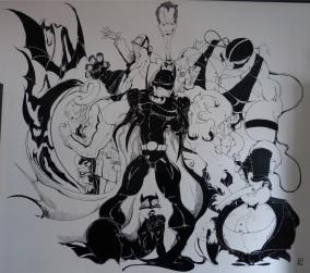 """Mural """"Batman"""""""