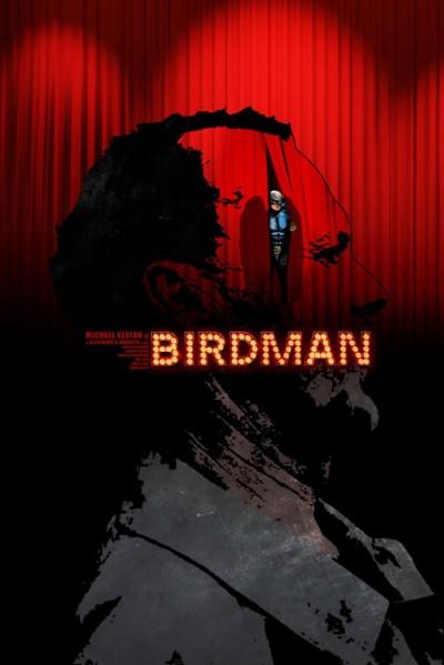 Birdman (2014) Alejandro González Iñárritu. PosterAlternativo de Edgar Ascenso