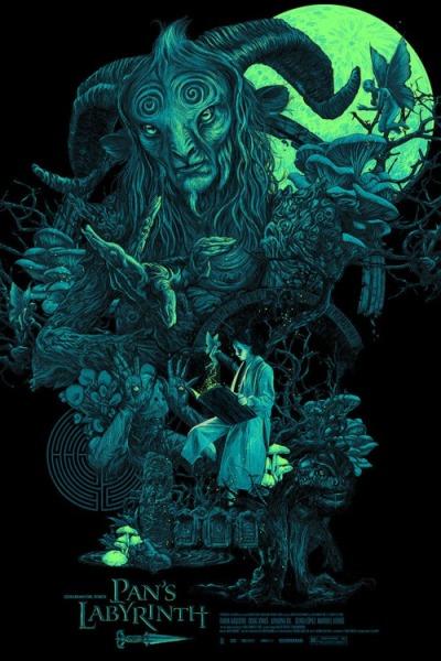 El laberinto del fauno (2006), Guillermo del Toro. Póster Alternativo de Vance Kelly