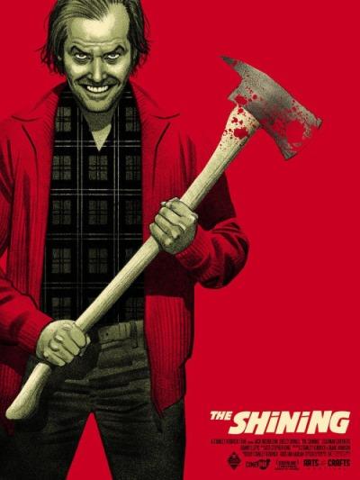 El Resplandor (1980), Stanley Kubrick. Póster Alternativo de Greg Smallwood