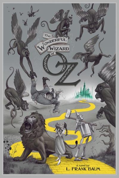 El mago de Oz (1939), Victor Fleming. Póster Alternativo de Jonathan Burton