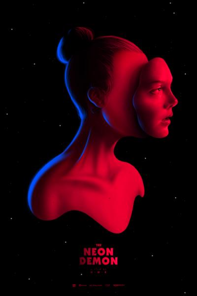 The Neon Demon (2016), Nicolas Winding Refn. Póster Alternativo de Pedro B. Maia