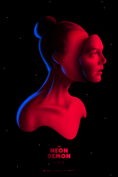 The Neon Demon (2016), Nicolas Winding Refn. Póster Alternativo de Pedro B. Maia