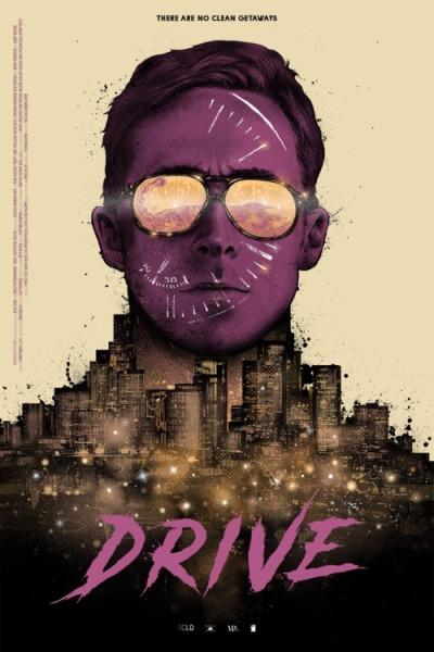 Drive (2011), Nicolas Winding Refn. Póster Alternativo de Nikita Kaun