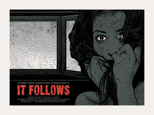 It Follows (2014), David Robert Mitchell. Póster Alternativo de Chris Garofalo