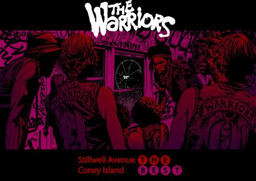 The Warrios (1979), Walter Hill. Póster Alternativo de CiaránO Donovan