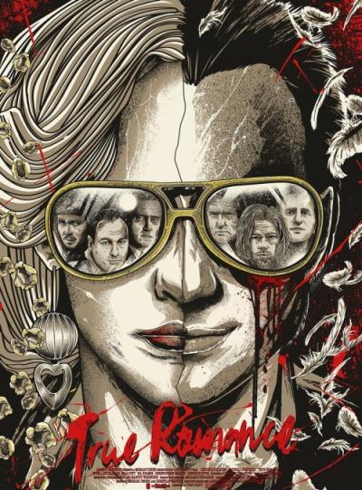 Amor a quemarropa (1993), Tony Scott. Póster Alternativo de JP Valderrama