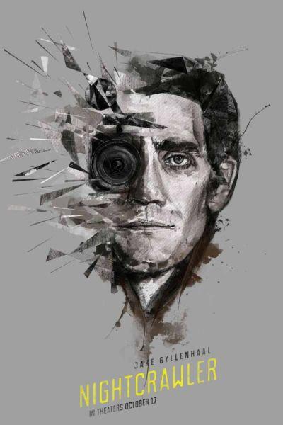 Nightcrawler (2014) de Dan Gilroy, Poster Alternativo de Ben Holmes