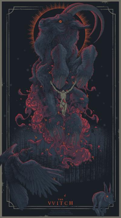 La bruja (2015), Robert Eggers. Póster Alternativo de Pig Hands
