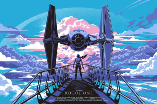 Rogue One (2016), Gareth Edwards. Póster Alternativo de Kris Miklos