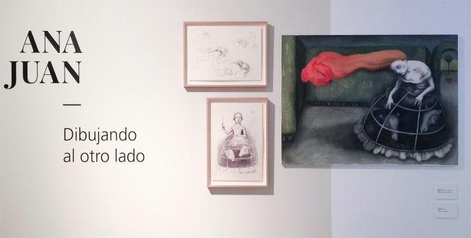 Exposicion Dibujando al otro lado de Ana Juan en Museo ABC