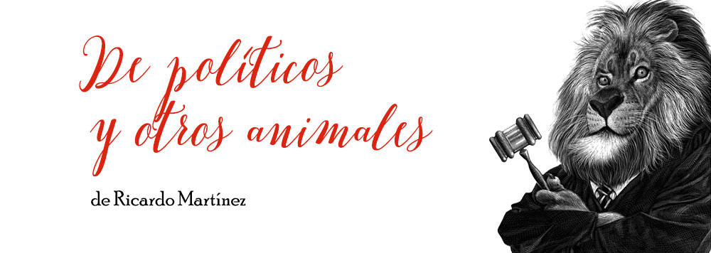 De políticos y otros animales, la exposición de RicardoMartínez