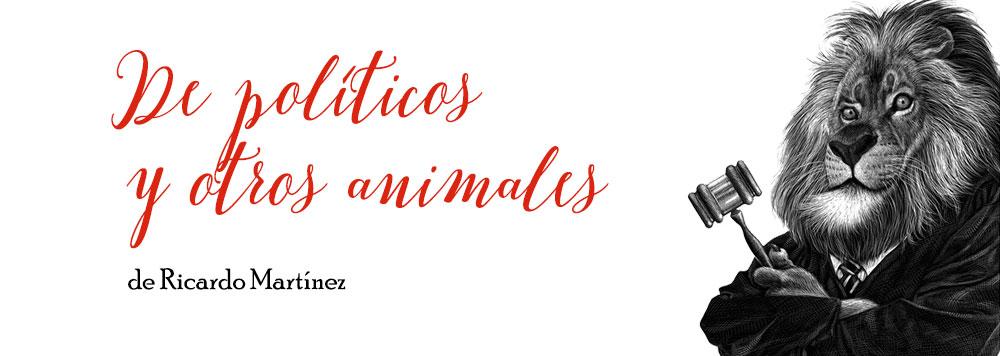De políticos y otros animales, la exposición de Ricardo Martínez