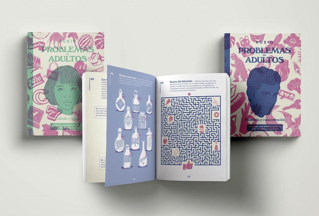 Problemas para adultos, los nuevos cuadernos de pasatiemposRubio